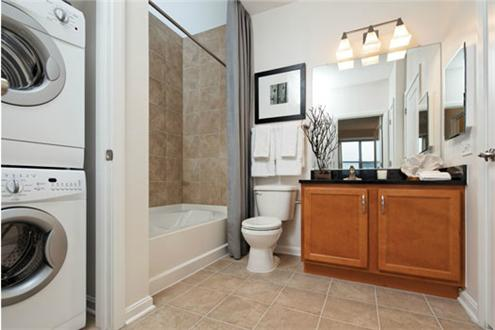 Expansive bathroom