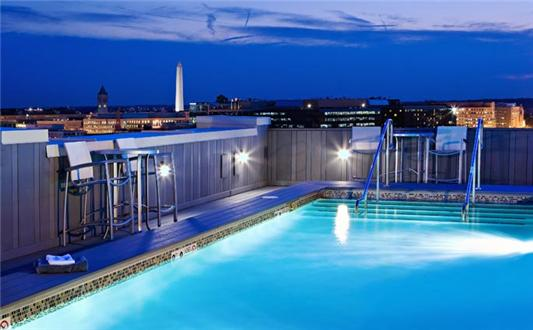 Spectacular Rooftop Pool