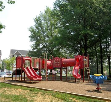 Tot lot playground