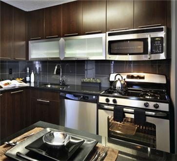 Beautifully Renovated kitchen with stainless steel appliances
